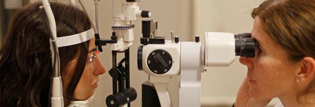 Revisión oftalmológica en Pamplona
